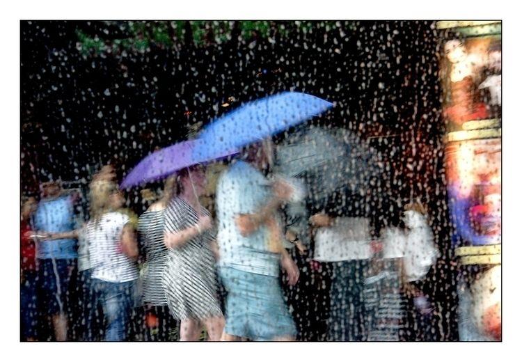 Rain Abstract - streetphotography - michaelfinder | ello