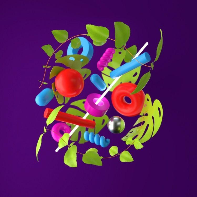 092 - AbstractShiz, cinema4d, design - hashmukh | ello