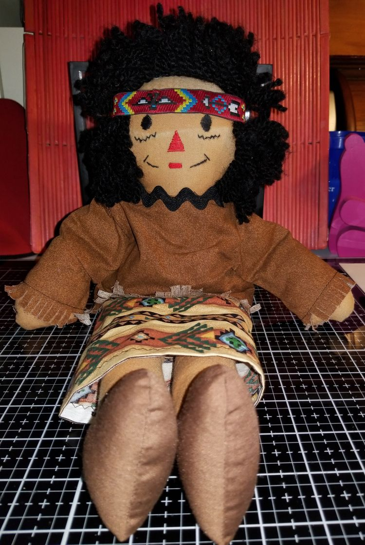 'Raggedy Ann 15 Handmade Doll - sharpharmade - sharpharmade | ello