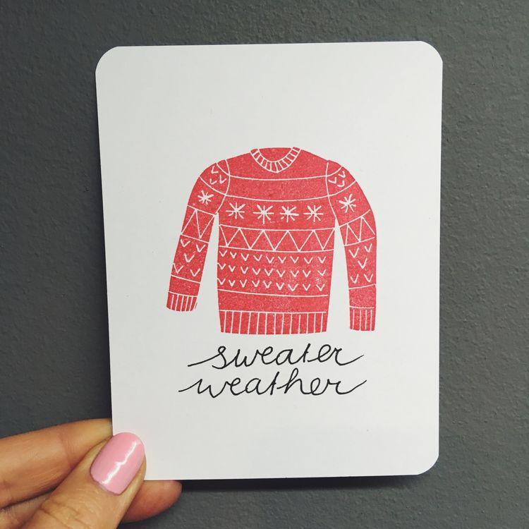 loves - sweaterweather? - studiomalu | ello