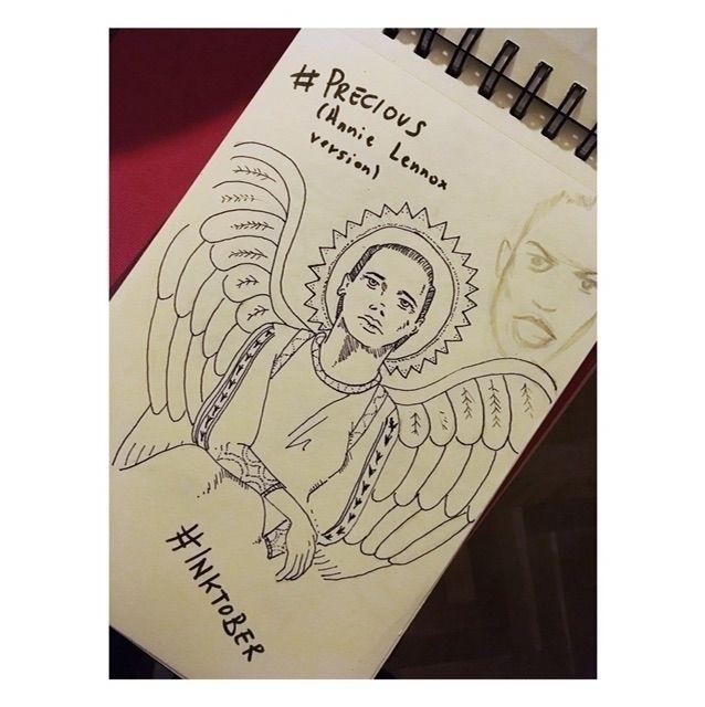 Precious angel) Day 9 - inktober - antoniofse | ello