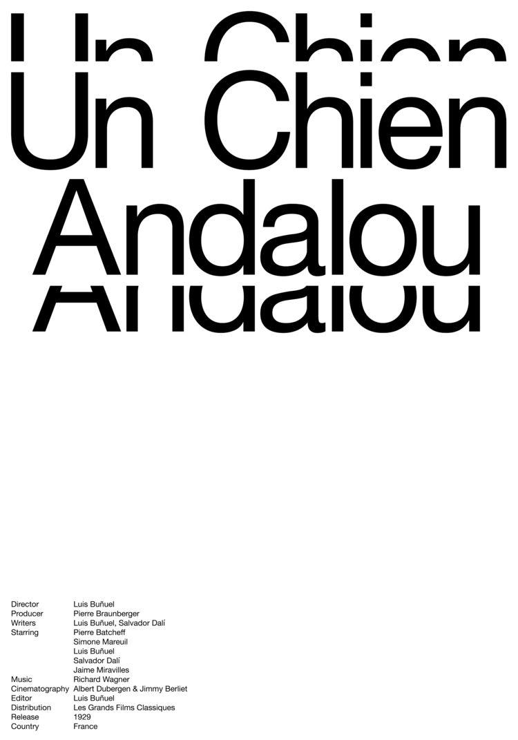Poster Chien Andalou, 50x70cm,  - ludwigmattsson | ello