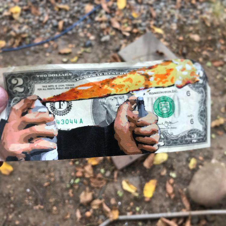 spend 2 dollar bill... Test spr - voxxromana | ello