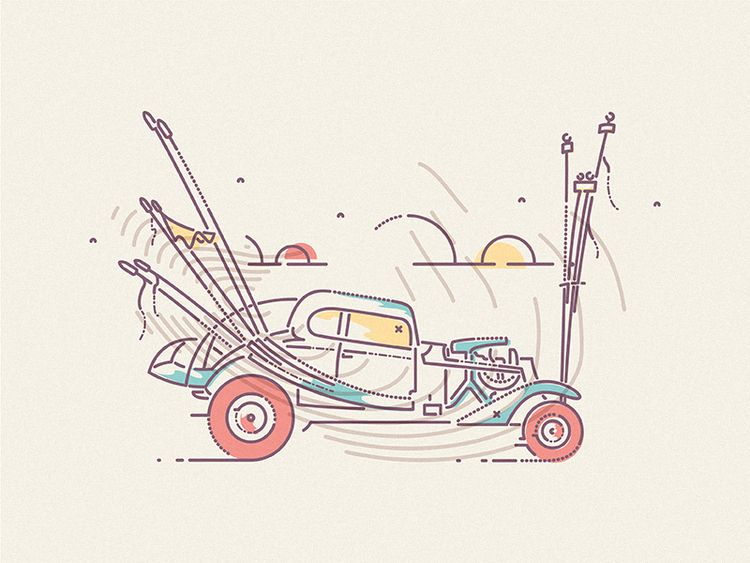 Channeling Mad Max vibes - jamesp0p | ello
