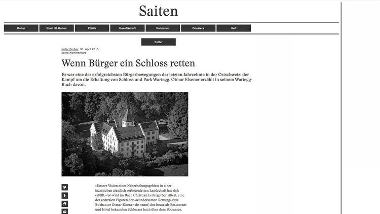Castel Wartegg, 9404 Rorschache - rorschachamberg   ello