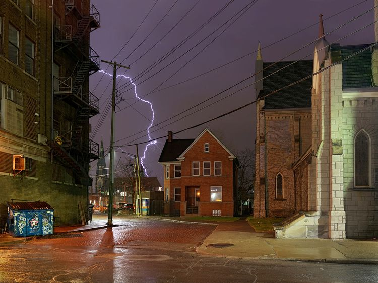 Detroit nocturne, 2016 Dave Jor - thinkoutsidethebox | ello