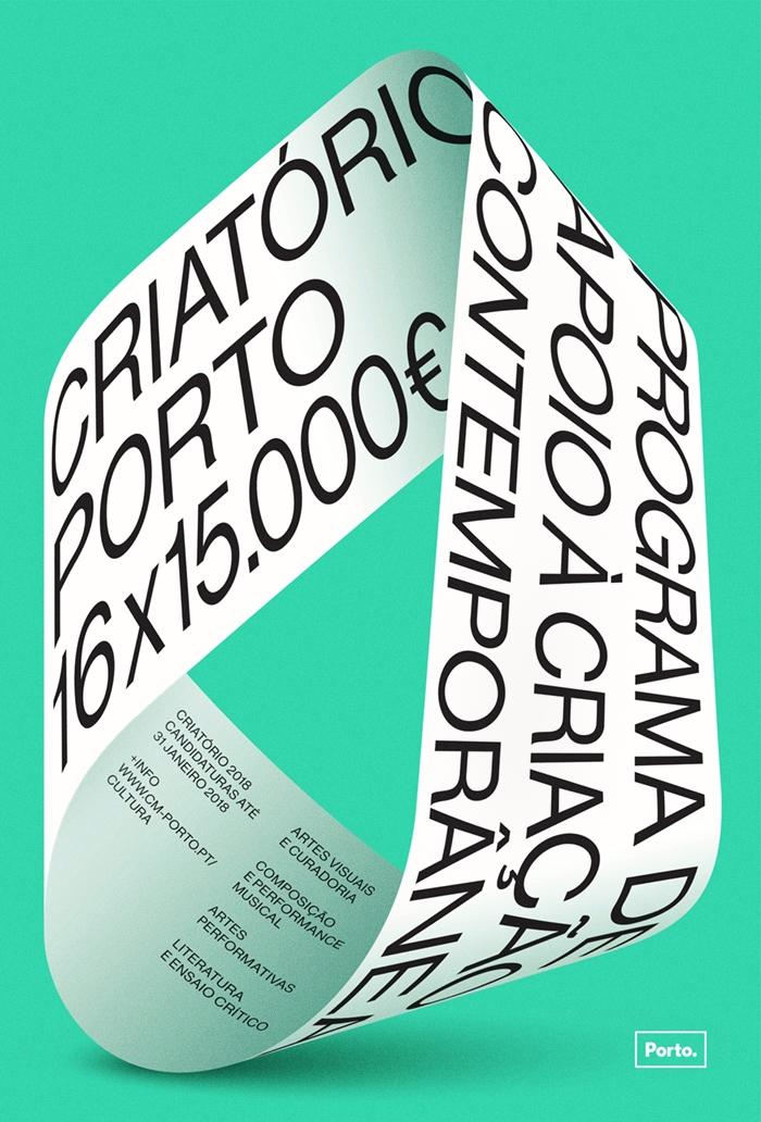 Criatório 2018 Poster Porto cit - degrau | ello