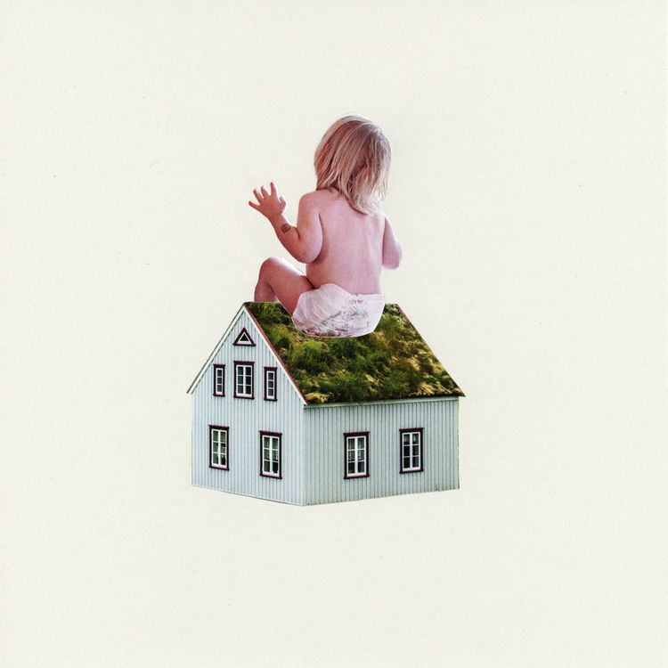 Tiny House Collage Art Discord - alaskapalms | ello