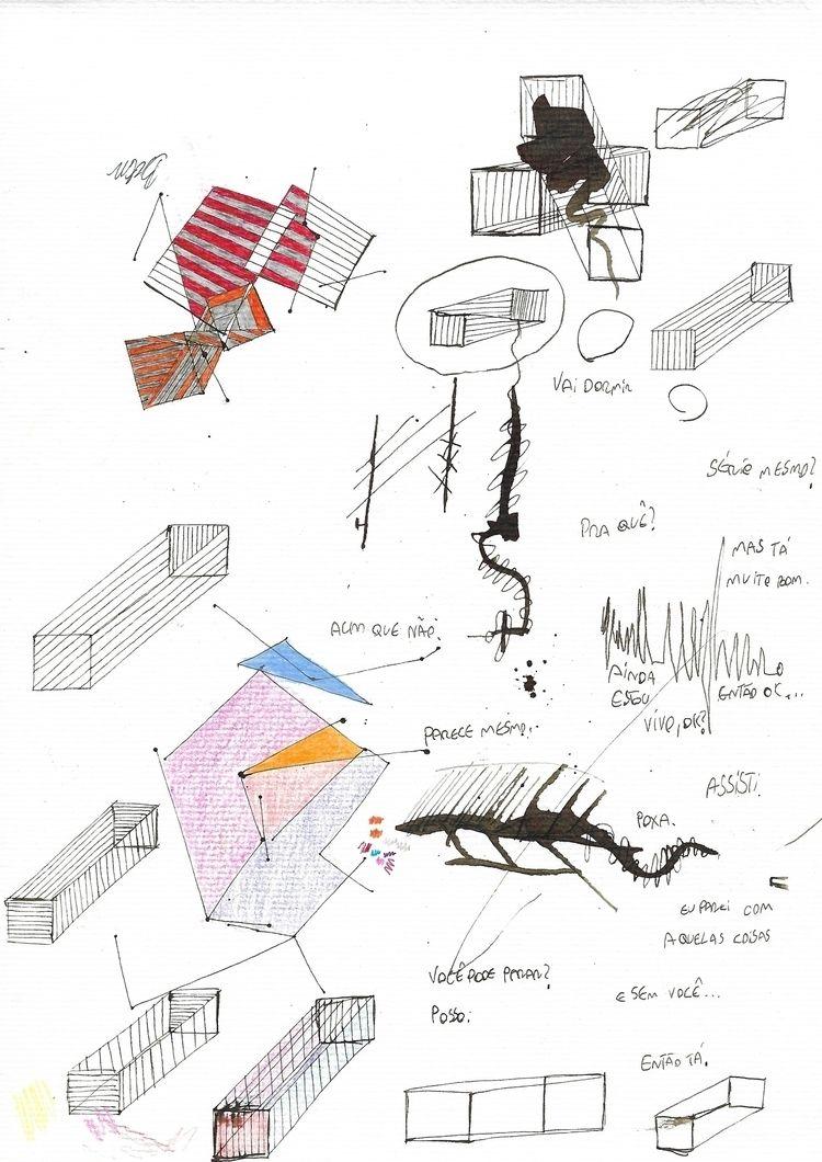 nankin, marker, geometric, poetry - brunocezaramorim   ello