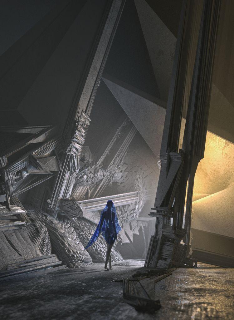 blue - 435, ello3d, rendering, maxon - flxrothschild | ello