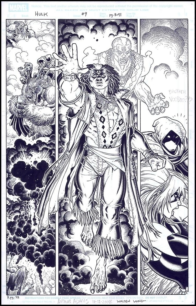 time issues Arthur Adams pencil - waldenwongart | ello