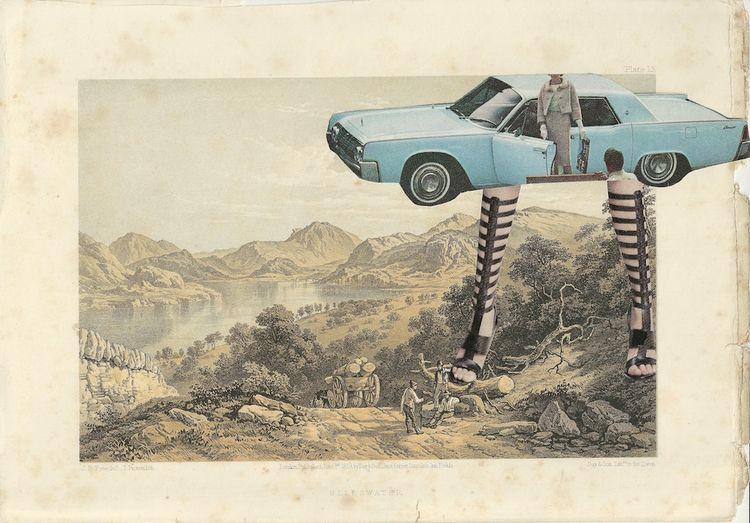 Greta. Collage original 1859 Sc - danielletcole | ello