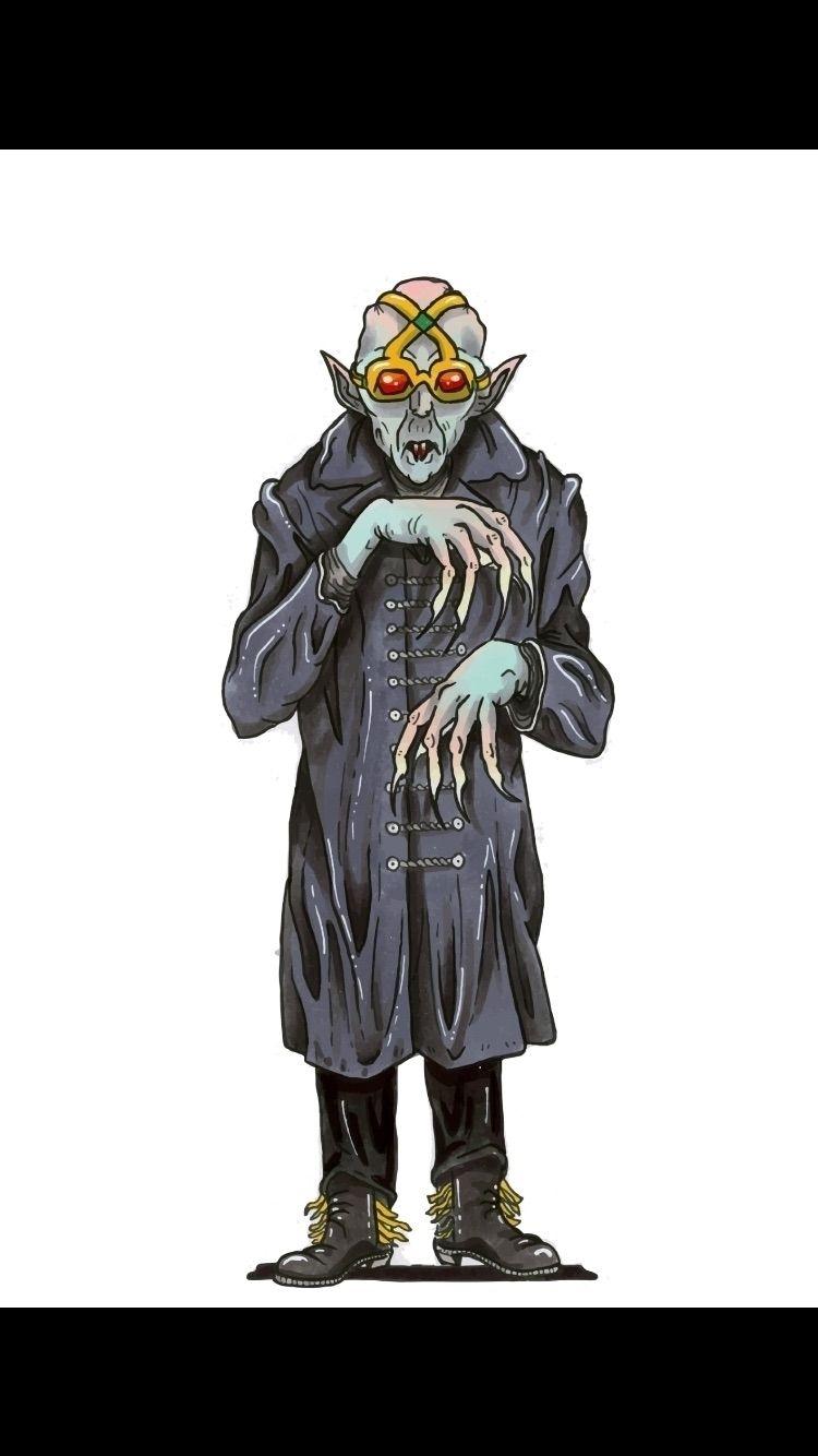 Gleason-Ghoul Nosferatu-style  - griffincoook | ello