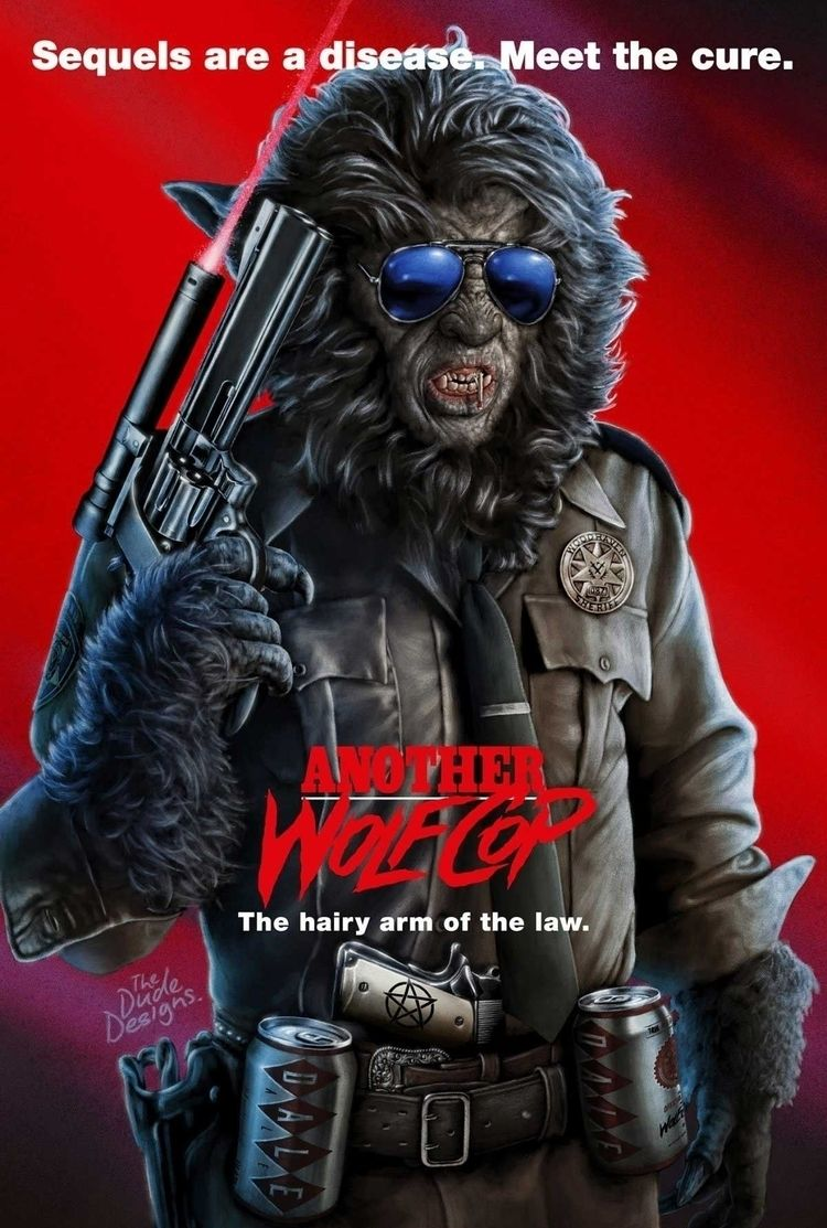 Wolfcop poster artwork Dude Des - thedudedesigns | ello