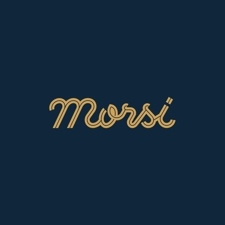 Morsi handmade lettering logo P - satoboy | ello