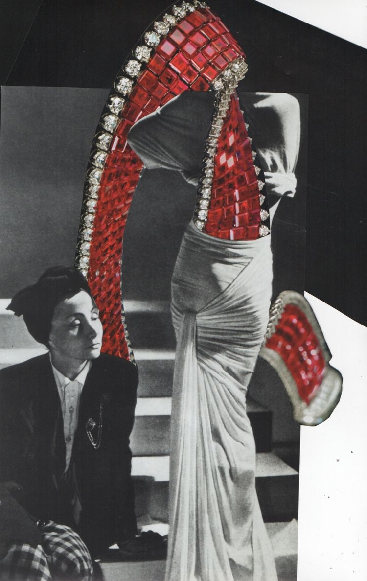 Braced - collage 10.15.2018 - glamour - deborahstevensonartist | ello