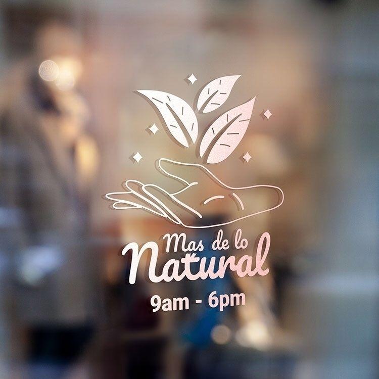 Mas de lo Natural Logo Design O - ochena_design | ello