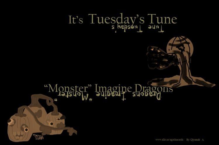 Happy Tuesday!! Tune:musical_no - agathacards   ello