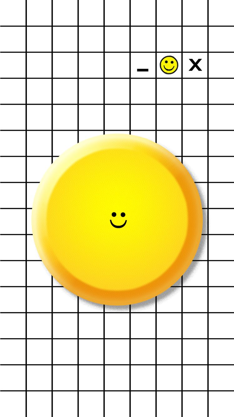 Smile - smile, emoji, design, illustration - valenvq | ello