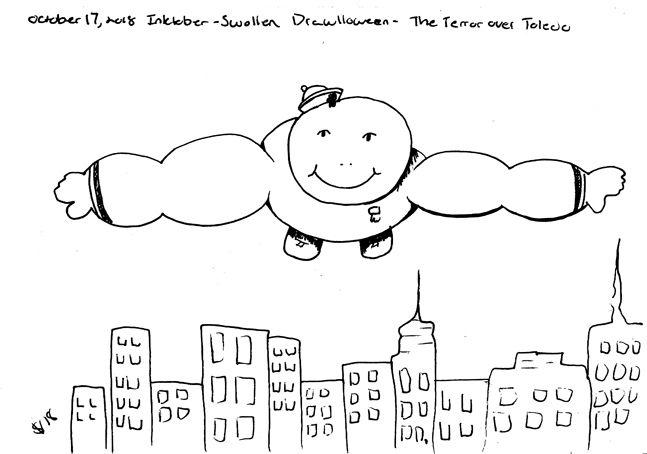 Marshmallow man learned fly att - svaeth | ello