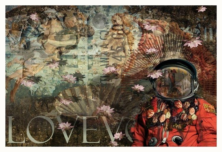Lovevolve art#collage# Venus co - astroturf | ello