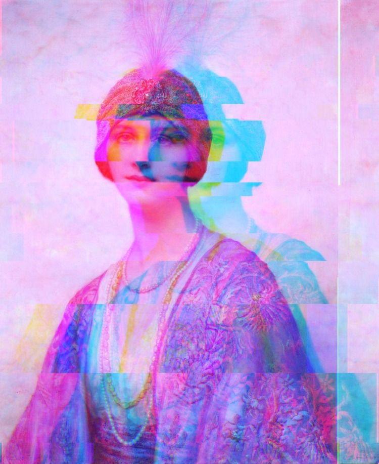 artwork, art, glitch, contemporaryart - eztx | ello