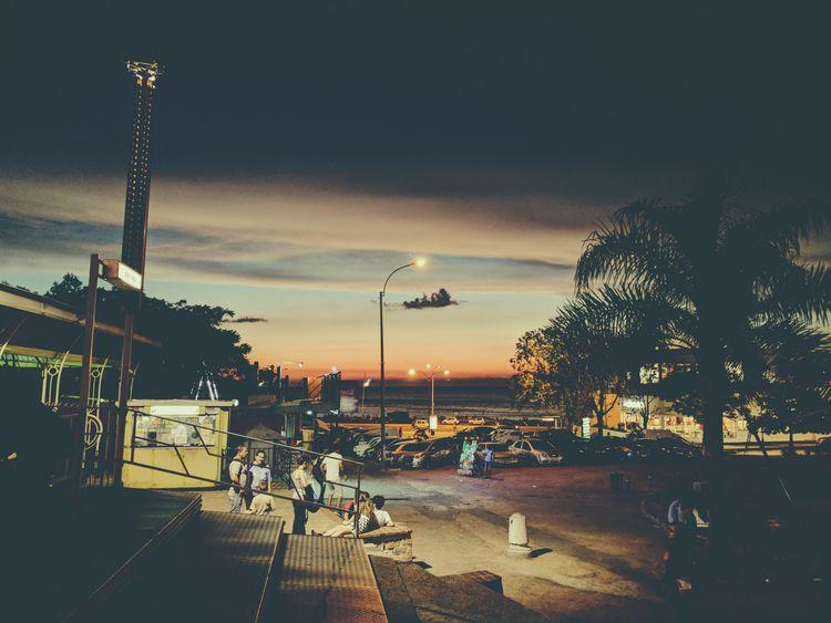 Urban sunset - calm, beach, street - fedodes | ello