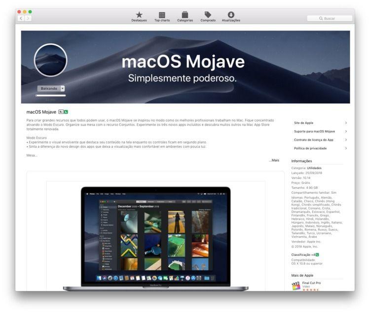 MacOS Mojave 10.14 4.90 GB - feliphe | ello