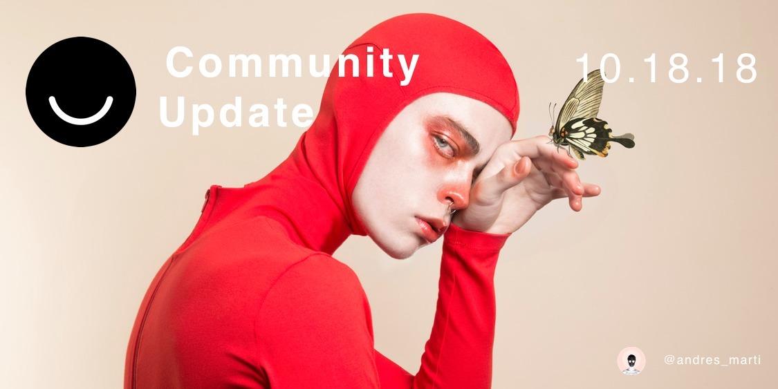 Community Update 10/18/2018 Hap - elloblog   ello
