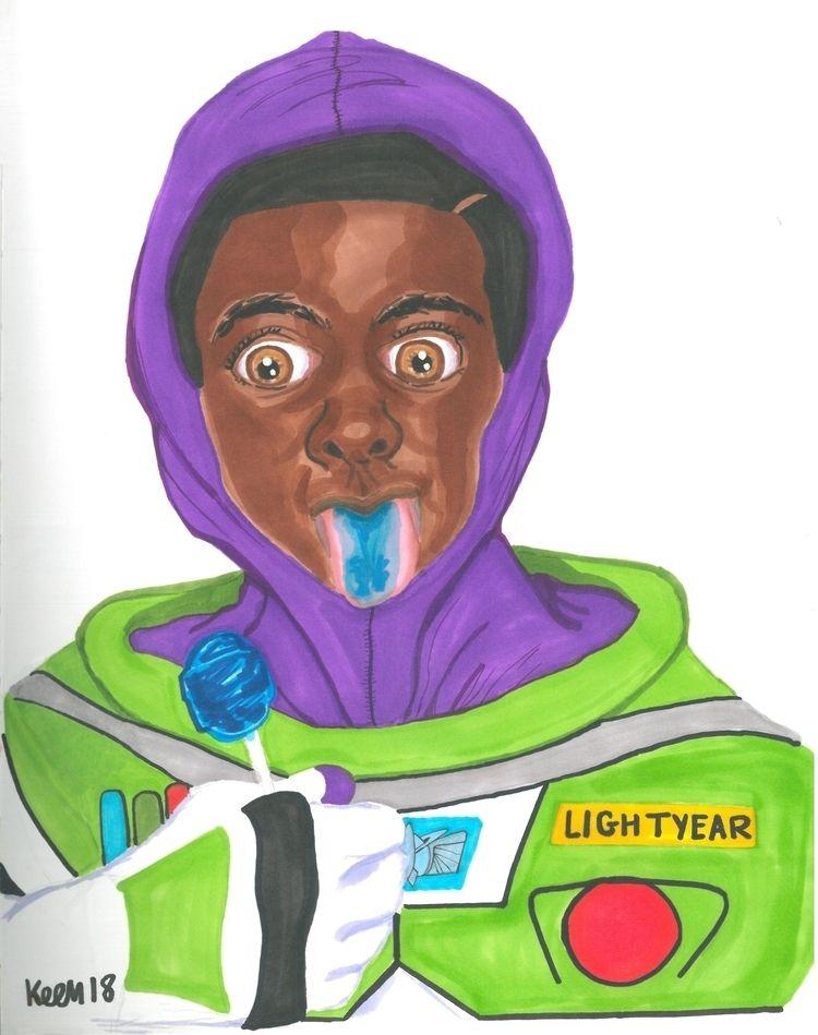 Buzz Lightyear (2018 - inktober - ccmicheau   ello