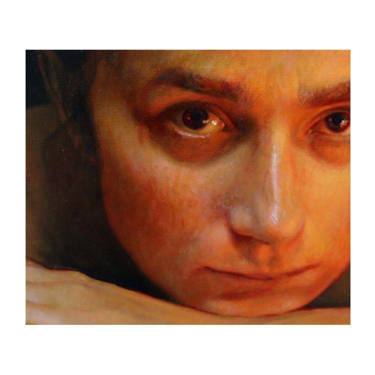 Sneak peek painting.  - onmyeasel - annawypych | ello
