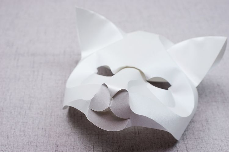 Curved Fold Origami - Fox - paper - maggieyong | ello