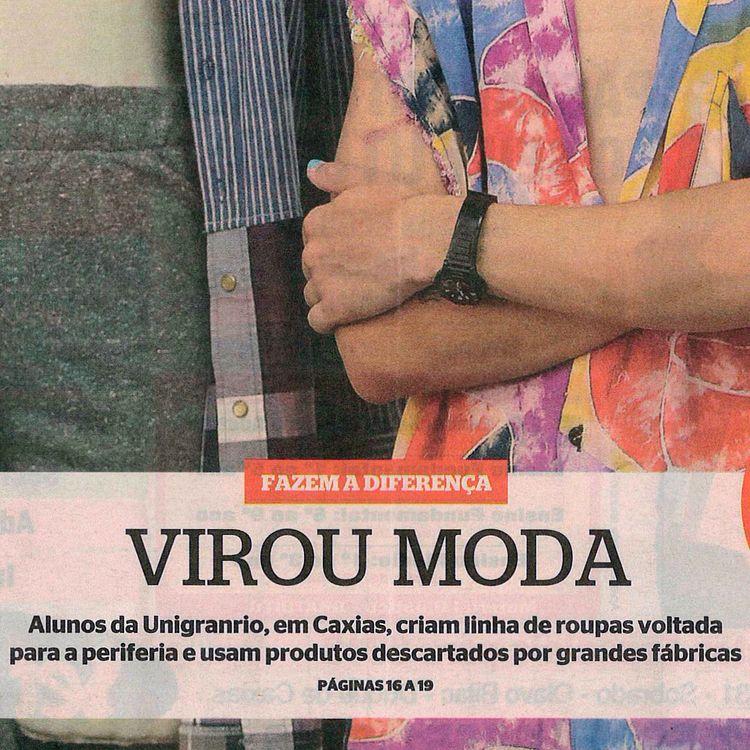 Jornal Extra + Universidade Uni - rafu   ello
