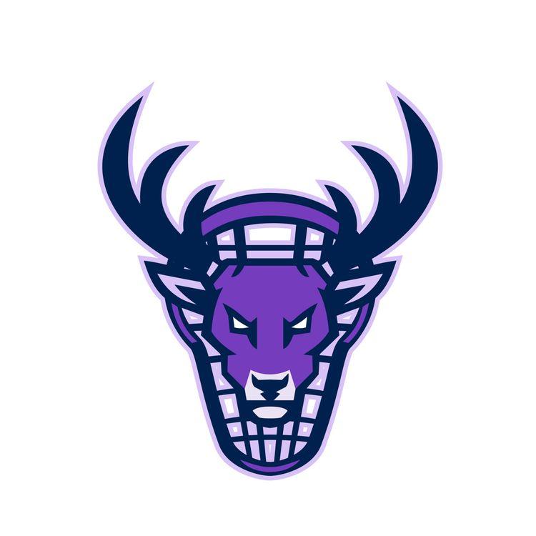 Stag Lacrosse Mascot - illustration - patrimonio | ello