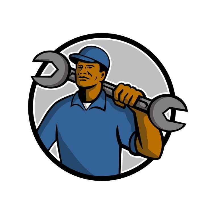 African American Mechanic Masco - patrimonio | ello
