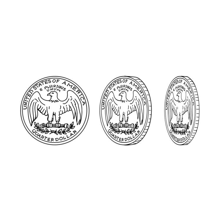 United States Quarter Dollar Re - patrimonio | ello