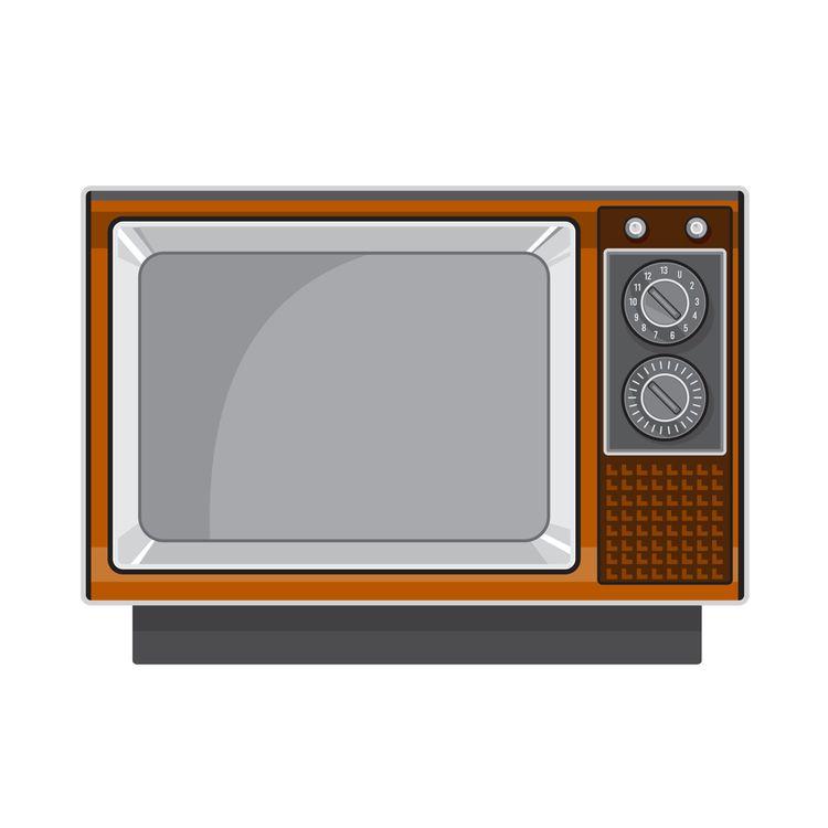 Vintage Television Set 1970s Re - patrimonio | ello