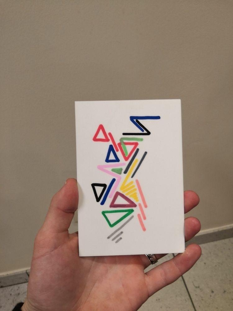 Drew today - drawing, colors, lines - vanloo | ello