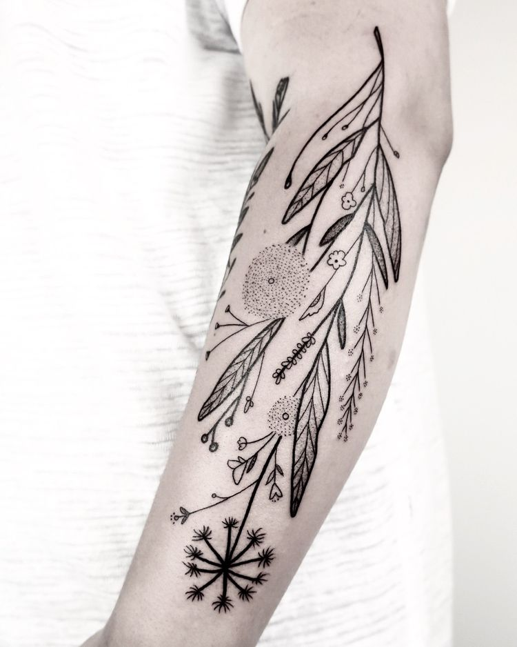Flowers Bloom Die: Tattoos Dani - scene360 | ello