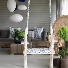 Indoor Wooden Swing - BabyUniqu - babyuniquecorn | ello