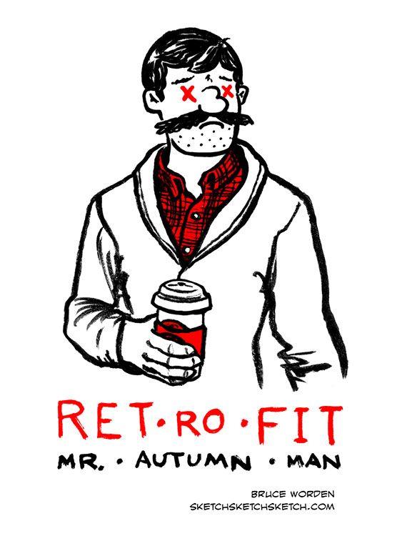 Retrofit Comics guy dressed Aut - bruceworden   ello