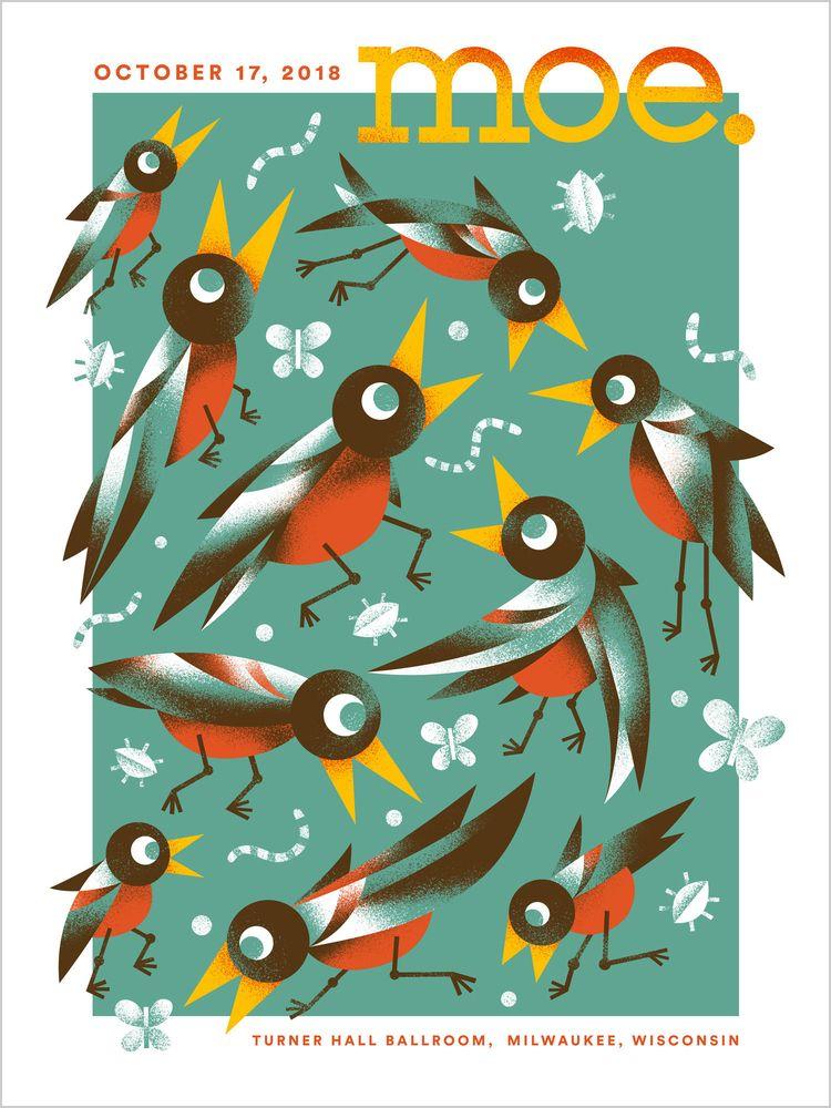 moe. poster ϵ(◉Θ◉)϶ - arenvandenburgh | ello