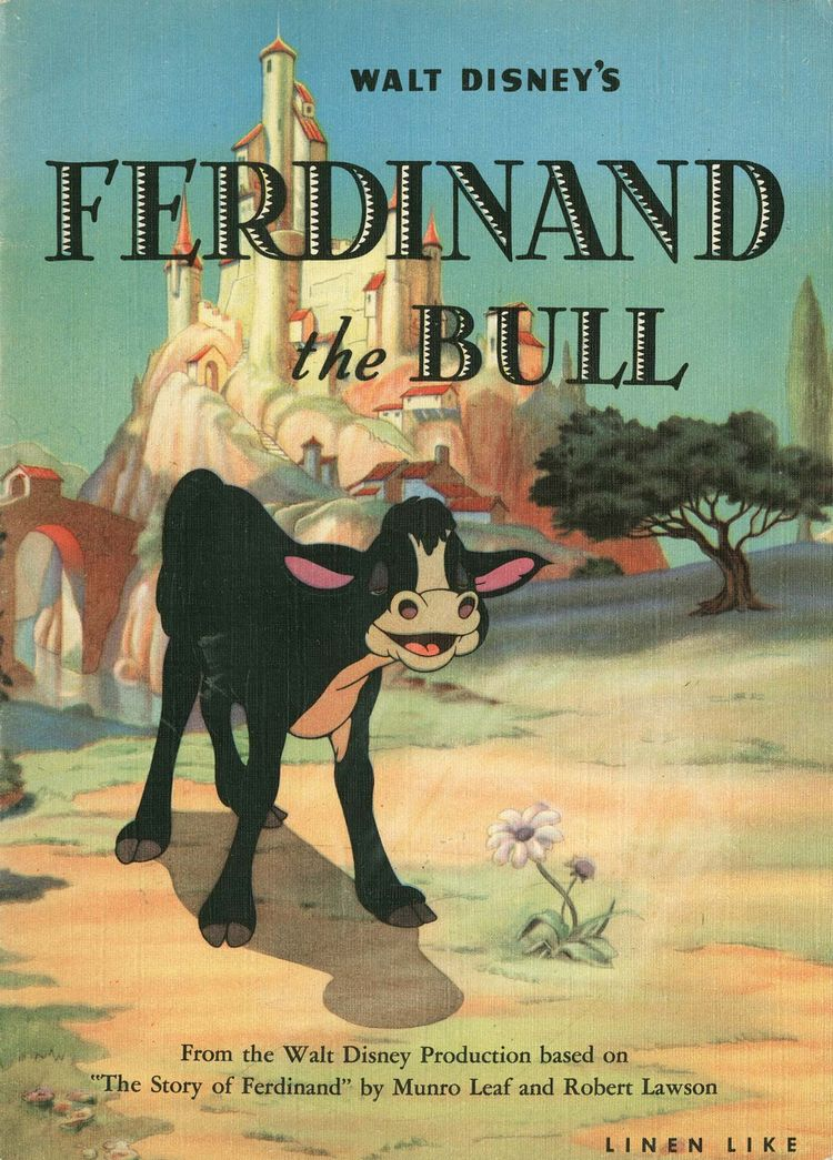 CLICK storybook Ferdinand Bull  - animationresources | ello