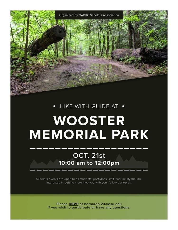 Wooster Memorial Park Hike post - whiteb34 | ello