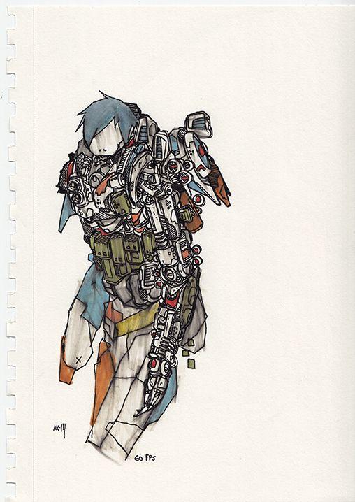 ink - illustration, art, drawing - aaronkraten | ello