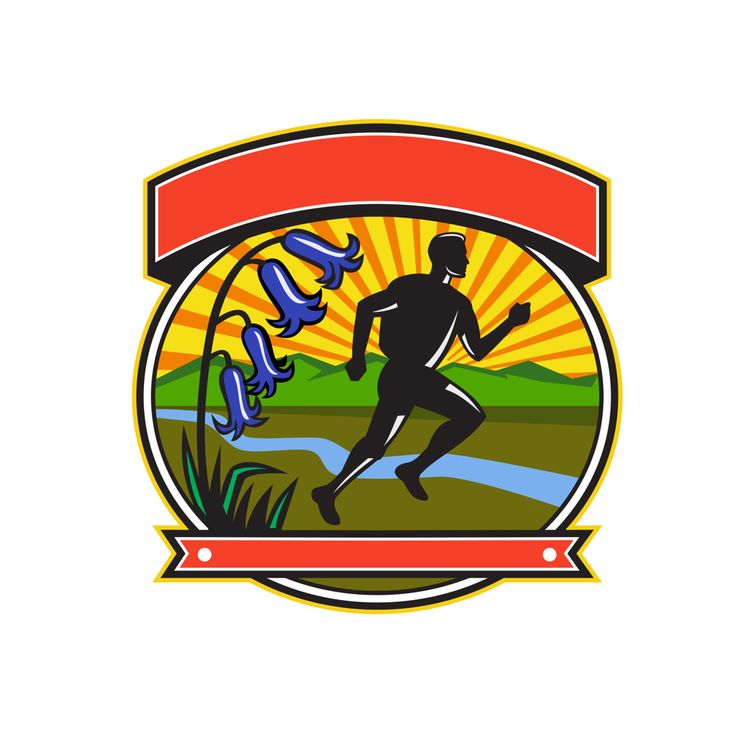 Trail Runner Bluebells Oval Ico - patrimonio   ello