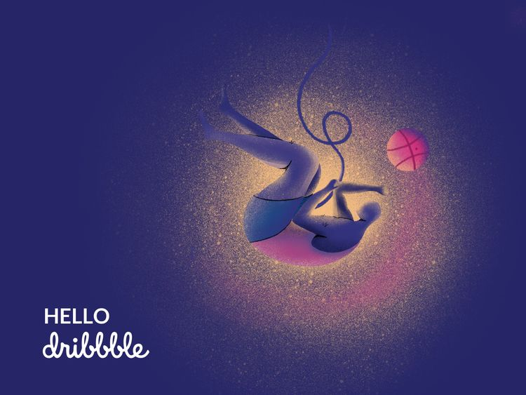 shot dribbble, follow dribble:  - aminnajafi | ello