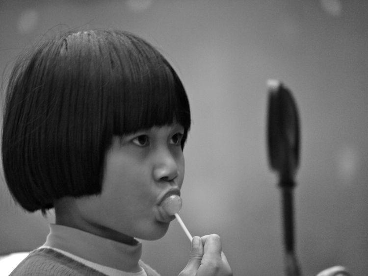 Faces - China, Lollipop, blackandwhite - reburton | ello