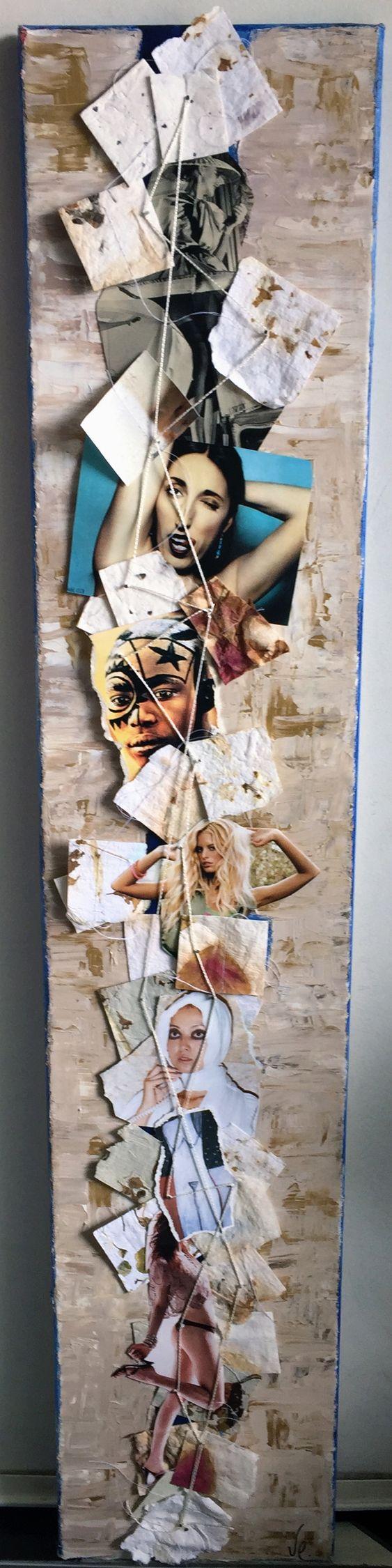 Femininity Collage - Mixed Medi - vcoloiera | ello