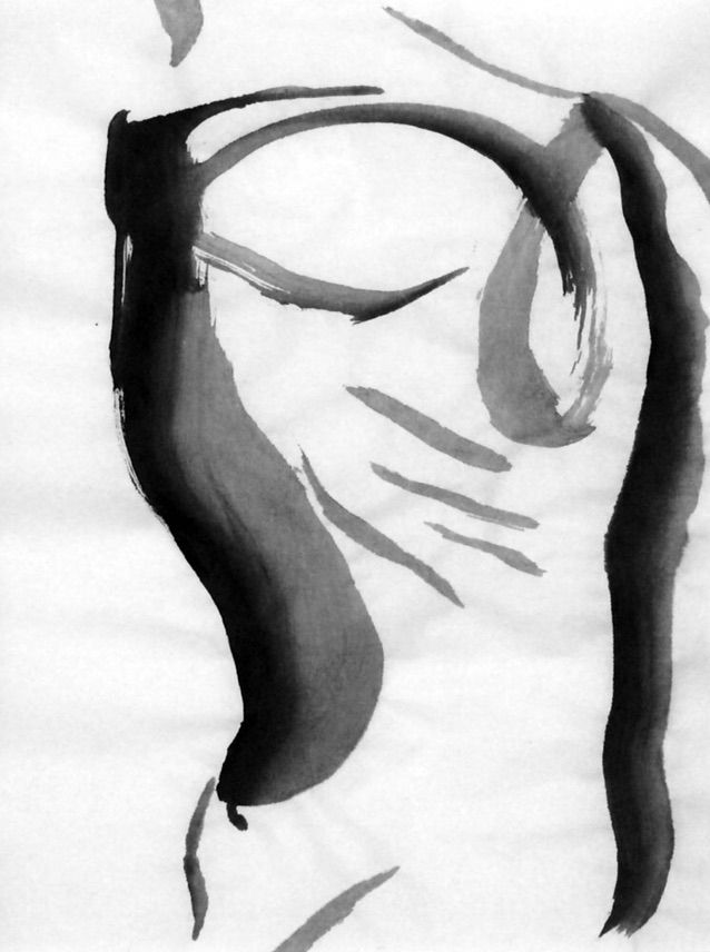 art, inkwash, blackandwhite, monochrome - mlui | ello